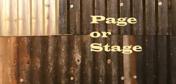 20210320 Page or Stage - Titled